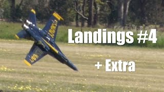 getlinkyoutube.com-RC Jet Airplane Landings and Crashes - the good the bad the ugly from Temora