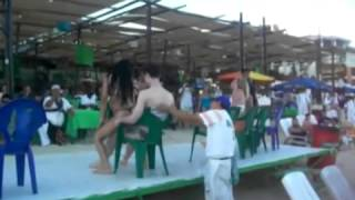 getlinkyoutube.com-487 Lap dance Venezuela girl giving Virgin Boy a  cute  lap dance