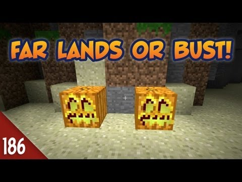 Minecraft Far Lands or Bust - #186 - Head In A Fishbowl