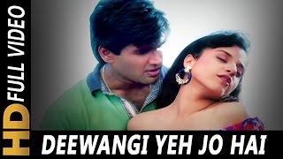 Deewangi Ye Jo Hai Pyar Ki | Lata Mangeshkar, Kumar Sanu | Vishwasghaat 1996 | Sunil Shetty
