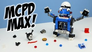 getlinkyoutube.com-LEGO Mixels Series 7 MCPD Kuffs Busto & Tiketz Max Opening Build