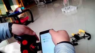getlinkyoutube.com-Parrot bebop drone:$20 small controller
