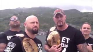 GALLOWS & GUN, THE BULLET CLUB ARE COMING TO WAR OF THE WORLDS