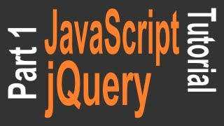 getlinkyoutube.com-JavaScript & jQuery Tutorial for Beginners - 1 of 9 - Getting Started