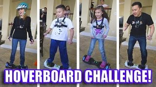 getlinkyoutube.com-HOVERBOARD CHALLENGE!!! AlienWheels BatWings Racing Action!