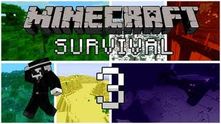 getlinkyoutube.com-Minecraft Survival: Episode 3 - Creeper...Creeper everywhere...