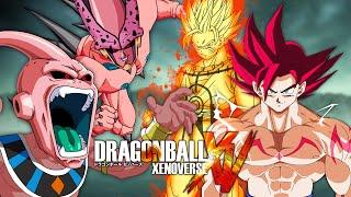 getlinkyoutube.com-Omega Cell Buu & Buurus VS Kurama Chakra Goku & Demon God Goku | Dragon Ball Xenoverse MODS (Duels)
