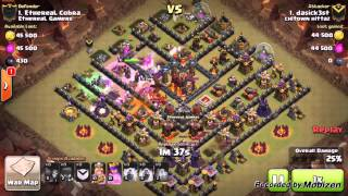 getlinkyoutube.com-Clash of clans TH10 war base anti 2🌟? Undefeated?