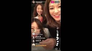 [ENG SUBS] 170207 - SNSD IG Live (2nd Live Yuri Spamming Comments)