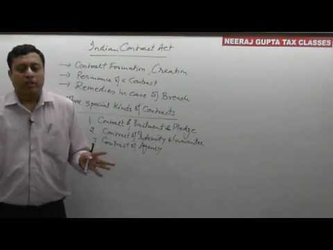 ca cpt law  chapter-1 lecture 1