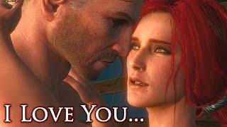 getlinkyoutube.com-The Witcher 3 - I Love You -  Triss Merigold Romance