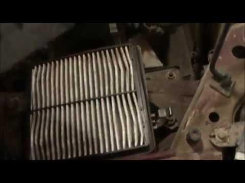 Замена воздушного и салонного фильтров на Шевроле ланос,ЗАЗ Шанс,Сенс