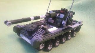 getlinkyoutube.com-AMX 13 90 из Lego. Tutorial 2/2