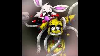 getlinkyoutube.com-FNAF 3 Spring trap x mangle every time we touch