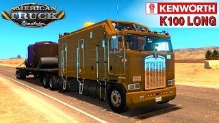 American Truck Simulator KENWORTH K100 LONG