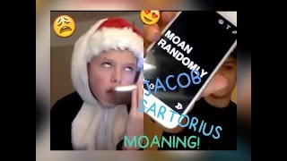 getlinkyoutube.com-😩Jacob Sartorius Moaning and Singing on YouNow🎤