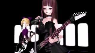 getlinkyoutube.com-[MMD] Tokyo Teddy Bear - Emily Liar & Rin Kagamine + Motion Dl
