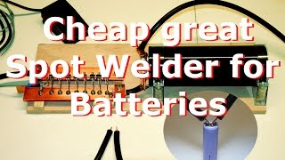 getlinkyoutube.com-Spot Welder for battery homemade DIY part 1, Punktschweißgerät