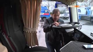 getlinkyoutube.com-Unterwegs auf der Autobahn - Traumjob Berufskraftfahrer (Dossier 24) - Teil 1