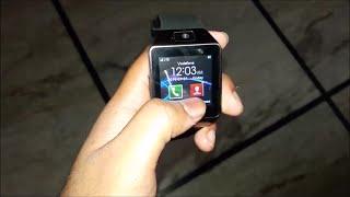 getlinkyoutube.com-M9 Smartwatch Review