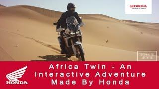 getlinkyoutube.com-Africa Twin - An Interactive Adventure Made By Honda