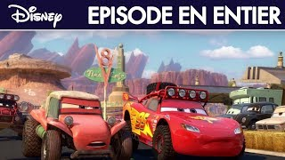 getlinkyoutube.com-Cars Toon - Les 500 miles de Radiator Springs