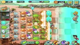 getlinkyoutube.com-Plants vs Zombies 2: Big Wave Beach - Day 28 Walkthrough