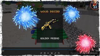 getlinkyoutube.com-Pixel Gun 3d - How to get The Golden Friend ? [HD]