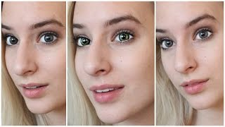 getlinkyoutube.com-Best Colored Contacts for BROWN EYES!