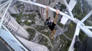 getlinkyoutube.com-Insane Urban Climbers (HD) -- James Kingston Meets Mustang Wanted