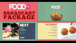"getlinkyoutube.com-after effects templates ""Food TV Broadcast Package"" - videohive -www.istockplus.com"