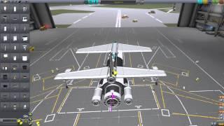 getlinkyoutube.com-Аэрокосмический многоразовый самолёт. Kerbal Space Program (KSP) .