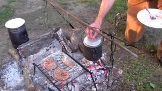 getlinkyoutube.com-Camp Cooking The Bushpot One Pot Meal
