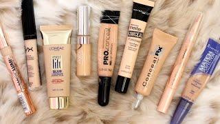 getlinkyoutube.com-Frugal Fridayz   Best & Worst Drugstore Concealers