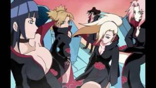 getlinkyoutube.com-Naruto Shippuden Girls ~Fire Burning~