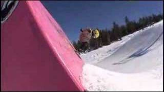 getlinkyoutube.com-6 Year Old Snowboarding Mammoth