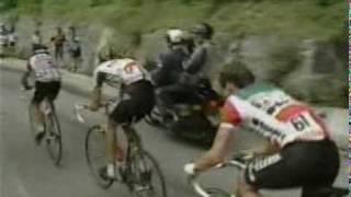 getlinkyoutube.com-1988 Tour de France to Alpe de Huez