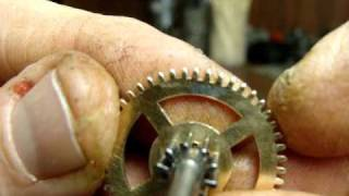 getlinkyoutube.com-Tymo Mantle Clock repair by Blackmore's Watch and Clock Repair.wmv