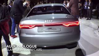 getlinkyoutube.com-Audi Prologue 2014 Unveiled at LA Auto Show!