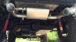 getlinkyoutube.com-MBRP Dual Axle Back Exhaust Jeep Wrangler JK