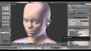 getlinkyoutube.com-MakeHuman to Second Life with Avastar.