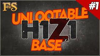 getlinkyoutube.com-Unlootable Base design H1Z1 - Safest Base - H1Z1 Guide #1