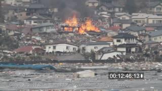 getlinkyoutube.com-Otsuchi Japan Tsunami 2011 stock footage shot by an American