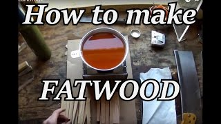 getlinkyoutube.com-How to Make Fatwood for Bushcraft   Iron Wolf Industrial