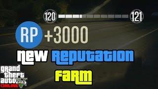 getlinkyoutube.com-GTA 5 RP Farm - Rank up fast 3000 RP every 25secs - How to Level up Fast GTA Online