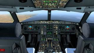 getlinkyoutube.com-JARDesign A330 v1.2 full flight in X-Plane 10 on PilotEdge | KSFO - KSAN
