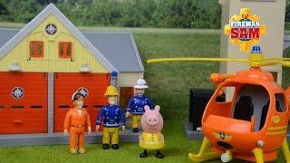 getlinkyoutube.com-Fireman Sam Episodes MEGA Compilation Fire engine Rescue Peppa pig  Feuerwehrmann Sam