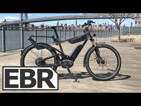 Riese & Müller Delite GT NuVinci HS Video Review - High Speed, Full Suspension, Bosch