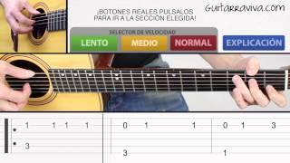 getlinkyoutube.com-Tocar Titanic en guitarra acústica FACIL tutorial completo con TABS TAB clasica criolla