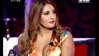 getlinkyoutube.com-Iraqi singer Shatha Hassoun in Lebanese program part 1